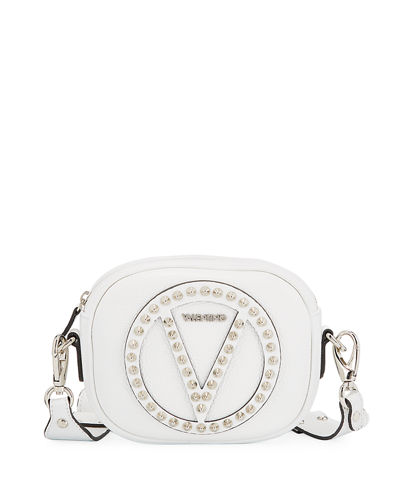 Nina Dollaro Studded Crossbody Bag