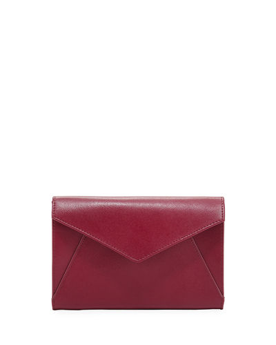 Saffiano Envelope Wallet on a String