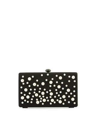 PEARLY BOX CLUTCH