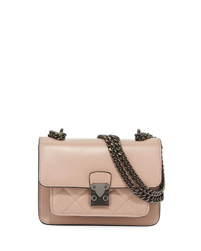KC Jagger Sia Mini Quilted Leather Crossbody Bag