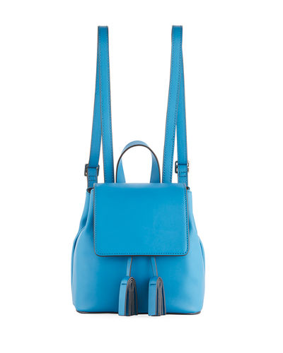 Vale Mini Faux-Leather Backpack