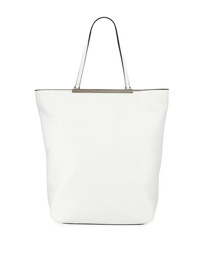 Ruby North-South Faux-Leather Tote