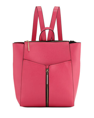 SAFFIANO FAUX-LEATHER BACKPACK from LastCall.com