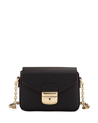 Le Pliage Heritage Mini Leather Crossbody Bag