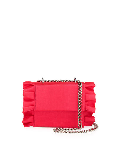 Alexa Mini Flap Chain Shoulder Bag