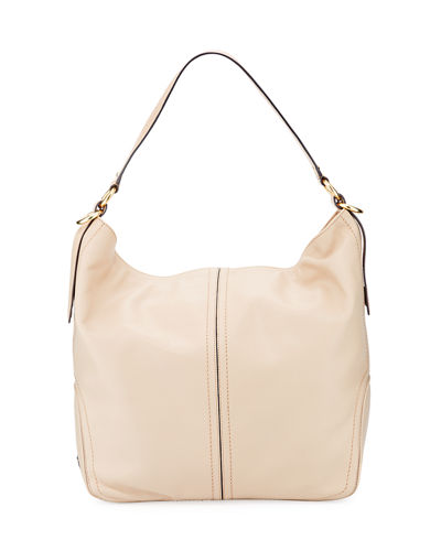 Julianne Smooth Leather Bucket Bag
