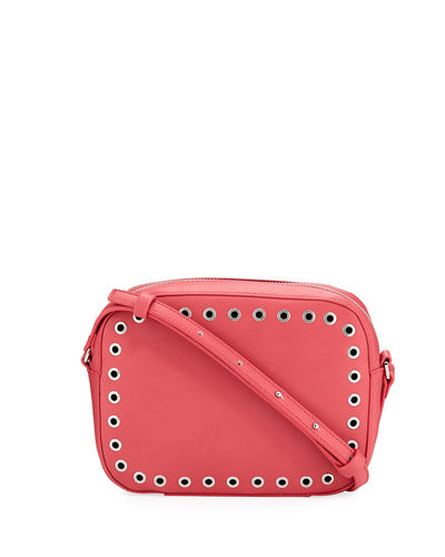 Ansley Camera Crossbody Bag with Grommets