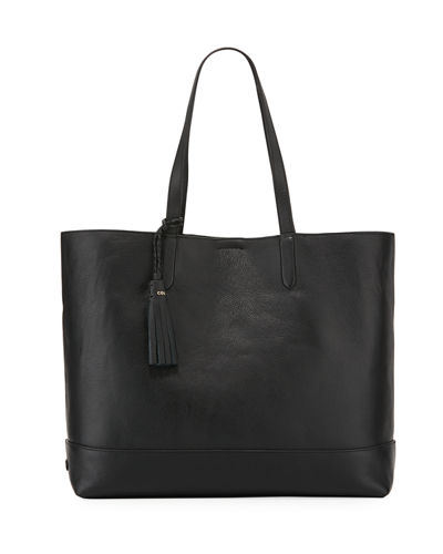 Pinch Leather Tote Bag