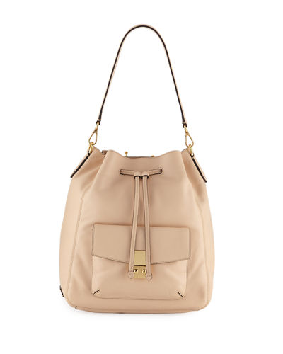 Cole Haan Allanna Smooth Leather Backpack