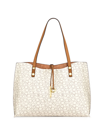 Reversible Monogram Tote Bag