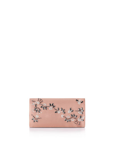 Stella Satin Envelope Clutch Bag