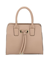 LastCall by Neiman Marcus deals on Neiman Marcus Alice Knotted Top-Handle Satchel Bag