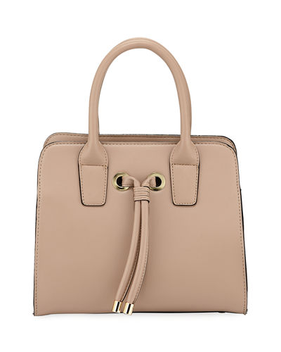 Alice Knotted Top-Handle Satchel Bag