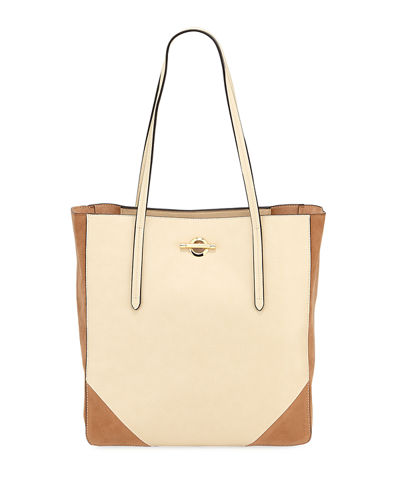 Max Toggle-Top Shoulder Tote Bag