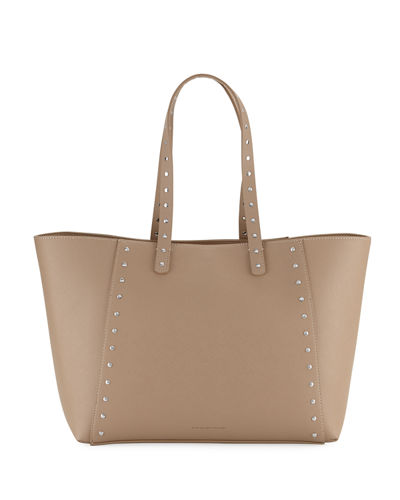 French Connection Ansley Studded Shoulder Tote Bag