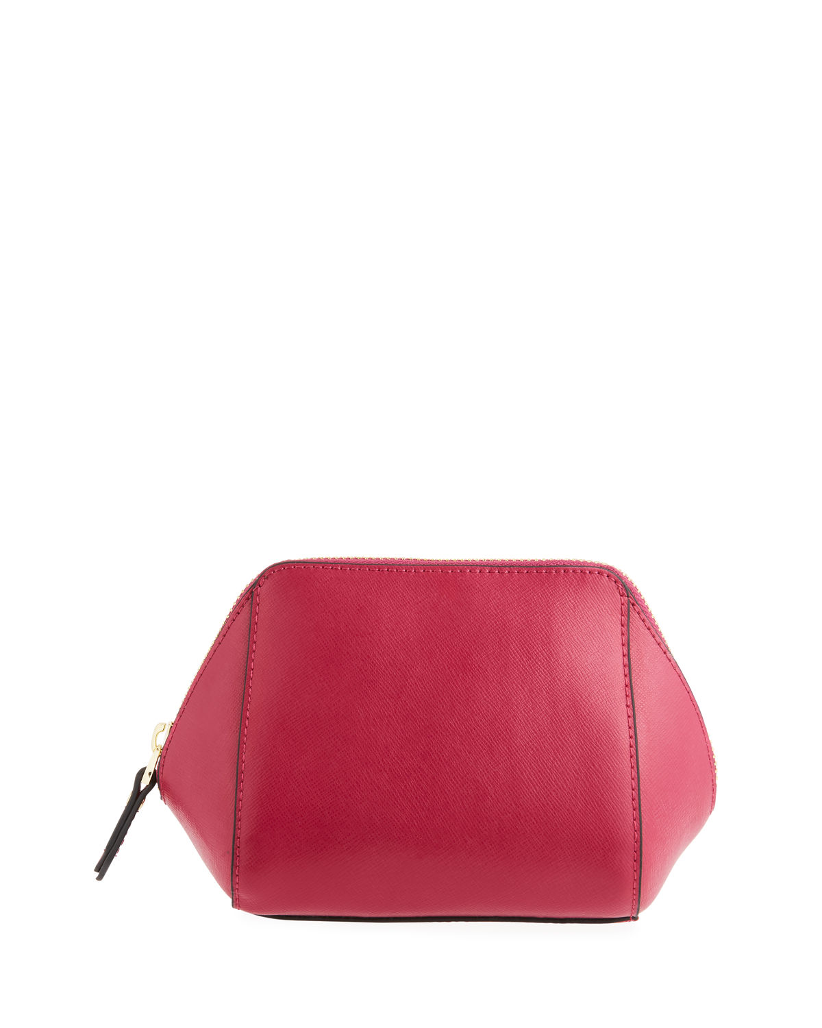 Saffiano Dome Cosmetic Bag