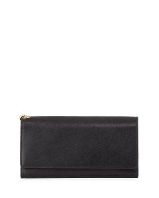 Day Out Saffiano Clutch Bag by Neiman Marcus