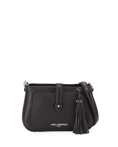 Toby Leather Crossbody Bag