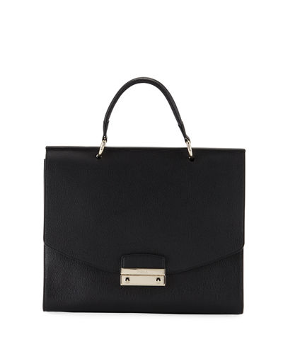 Furla Julia Medium Leather Top-Handle Bag