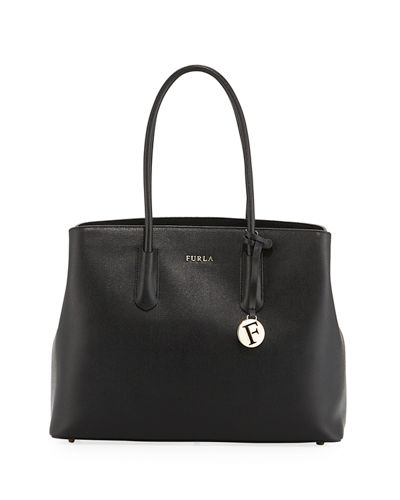 Tessa Large Saffiano Leather Tote Bag