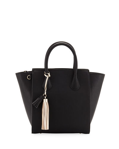 b9d2f08dfc8cf3 Perri Two-Tone Faux-Leather Tote Bag. Clearance
