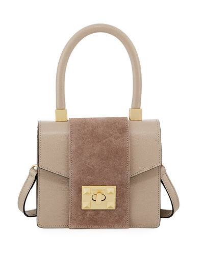 Grace Palmellato Leather Shoulder Bag