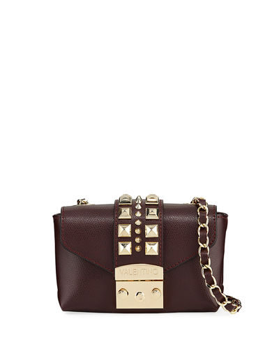 Paulette Palmellato Leather Crossbody Bag - Golden Hardware