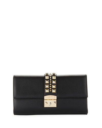 Cocotte Palmellato Leather Clutch/Crossbody Bag