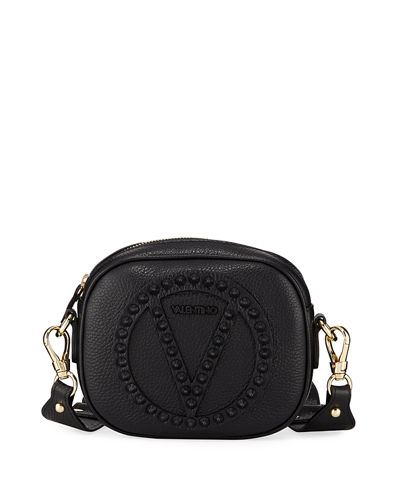 36f96311571 Valentino By Mario Valentino Nina Rock Dollaro Studded Crossbody Bag