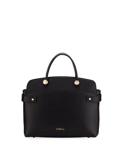 Furla Agata Small Saffiano Leather Tote Bag