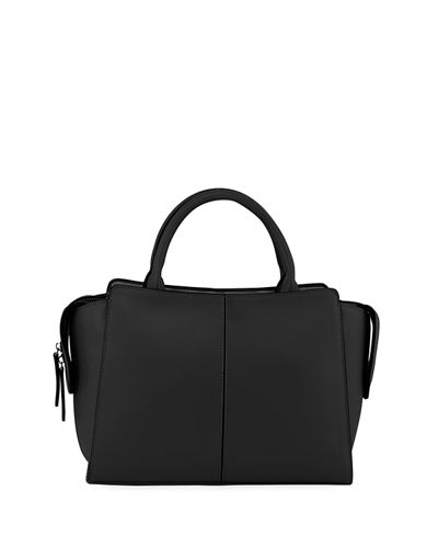 Moritz Two-Tone Large Satchel Bag