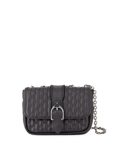 Amazone Mini Quilted Leather Crossbody Bag