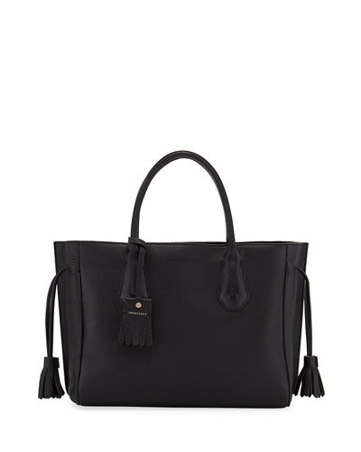 Penelope Medium Calf Leather Tote Bag