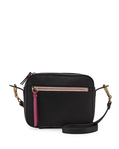 Carlin Colorblock Faux-Leather Camera Bag