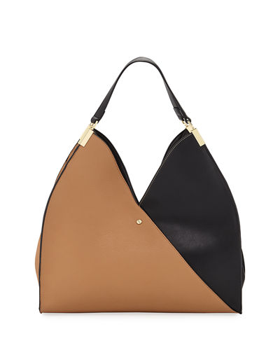 Allie Two-Tone Tote Bag