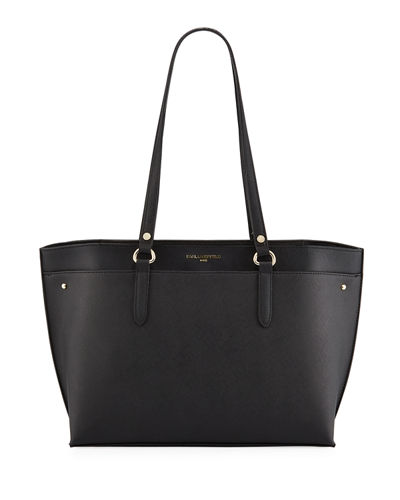 Fleurette Leather Tote Bag