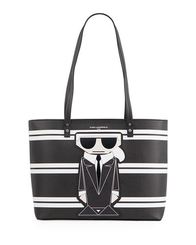 Karl Lagerfeld Paris Maybelle Shoulder Tote Bag with