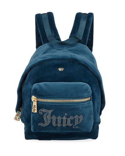 New Mini Velour Backpack