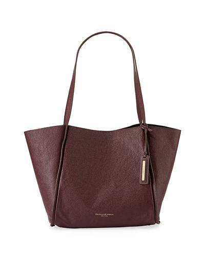 Donna Karan Alan Large Pebble Leather Shoulder Tote