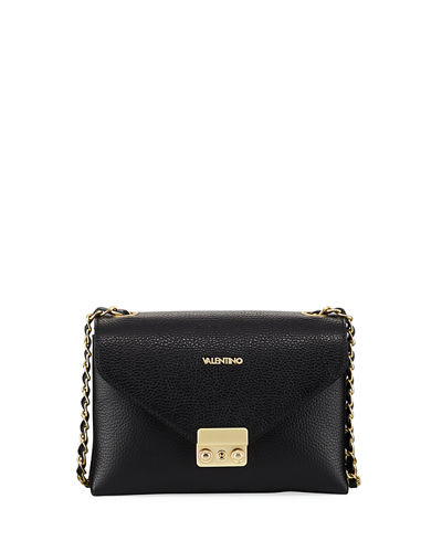 Isabelle Dollaro Leather Crossbody Bag - Golden Hardware