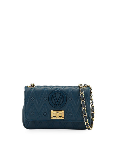 Noelle D Sauvage Studs Quilted Leather Crossbody Bag