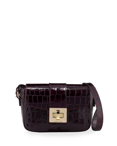 Yasmine Cocco Leather Crossbody Bag