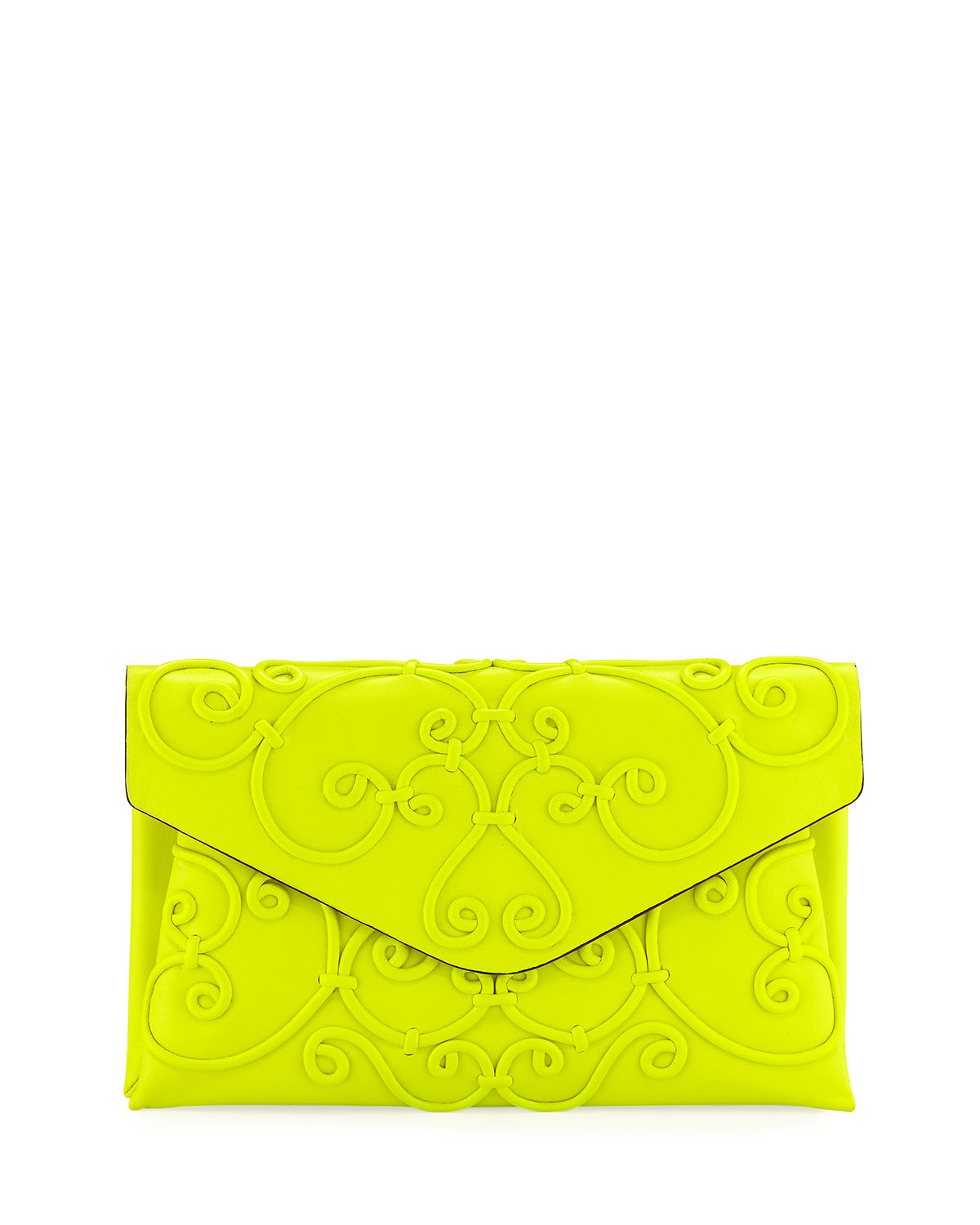Ready To Wear Report Latest Handbag Arrivals At Neiman Marcus Last Tendencies Back Pack Arcus Navy Intricate Scroll Envelope Clutch Bag Call 159500