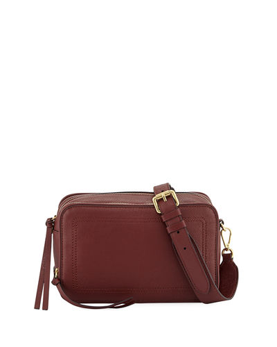 Harlow Leather Camera Bag