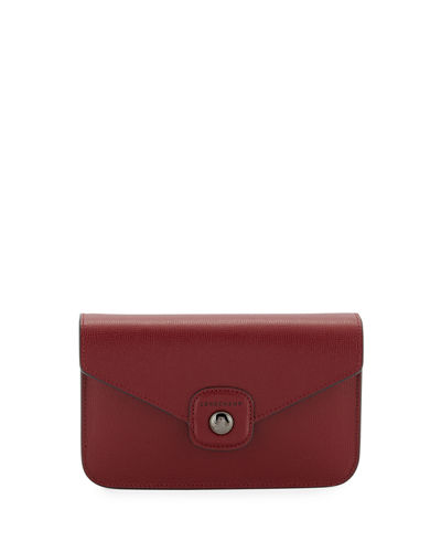 Le Pliage Heritage Leather Wallet On A Chain