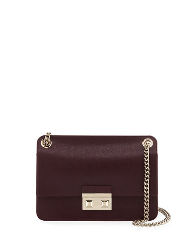 Bella Small Saffiano Leather Crossbody Bag