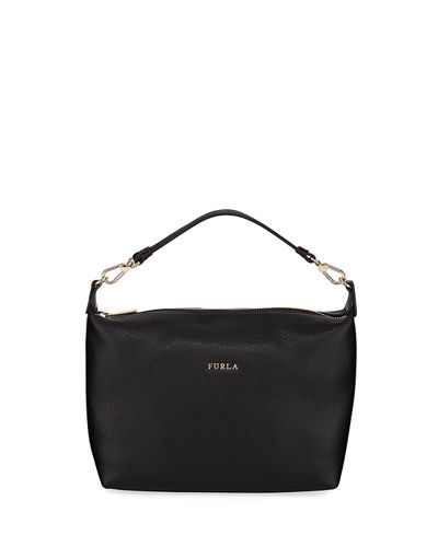 Sophie XL Leather Crossbody Pouch Bag