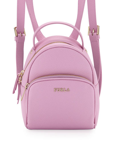 Frida Mini Vitello Leather Backpack