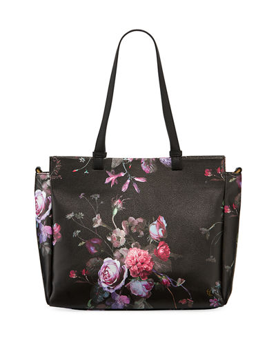 Feya Faux-Leather Tote Bag
