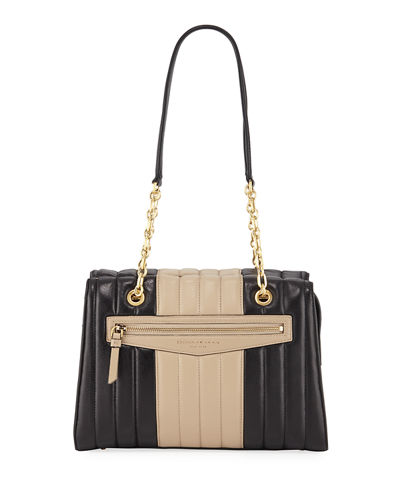 Erin Quilted Leather Tote Bag